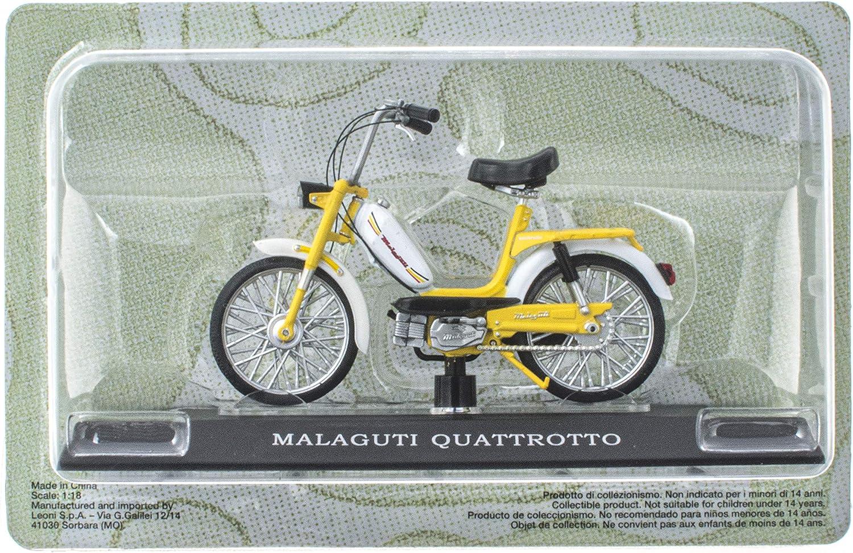 M16 MALAGUTI QUATTROTTO Mobylette Collection 1//18 OPO 10