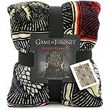 Game of Thrones Regali Merchandise Got Coperta Super Morbida Coperta Letto Luxury Stark Lannister Targaryen Greyjoy Baratheon Tyrell Great House Simboli Westeros