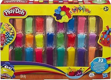 Play Doh - Plastilina, 33 Colores: Amazon.es: Juguetes y juegos
