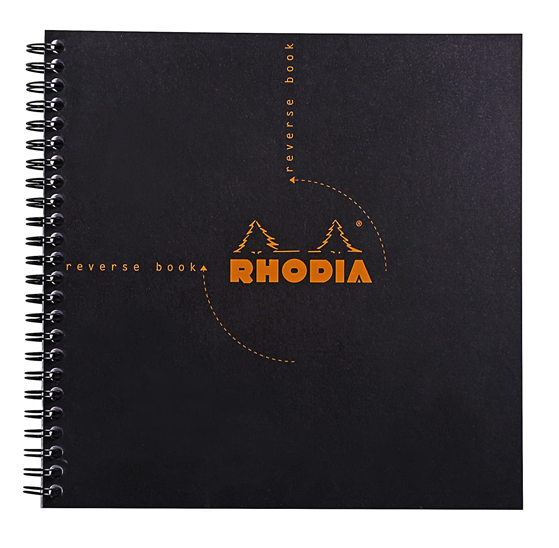 Amazon.com: Rhodia Graph Reverse Standard Notebook, One Notebook ...