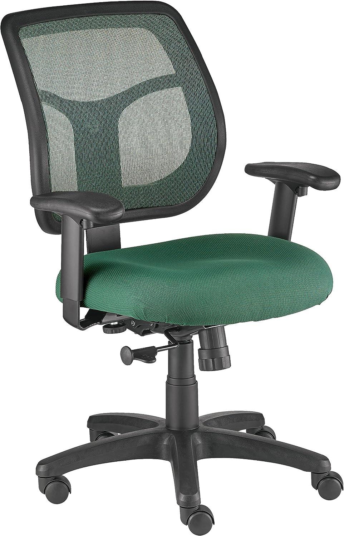 Eurotech Seating Apollo Midback Swivel Chair, Green