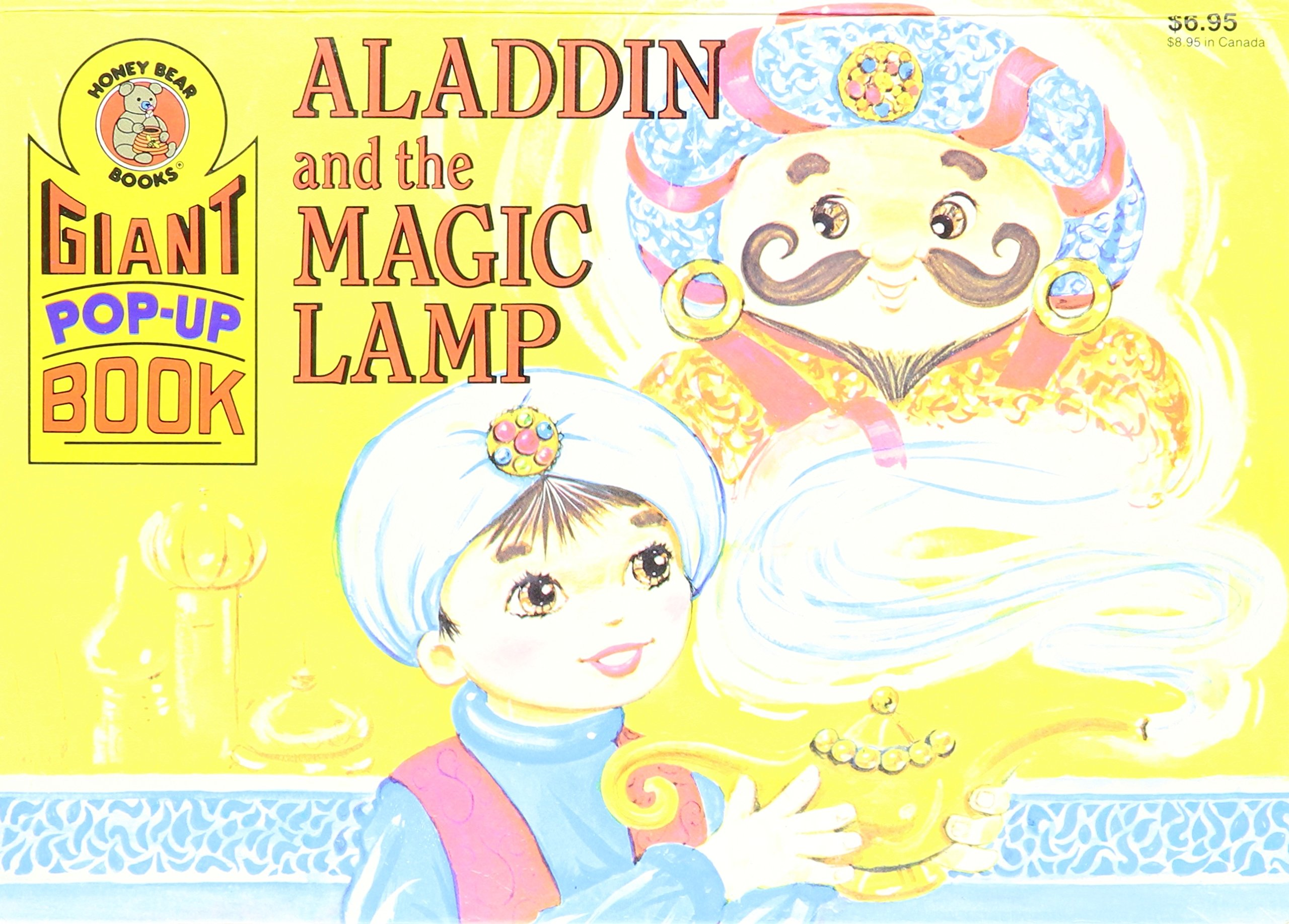 ALADDIN AND THE MAGIC LAMP.Giant Pop-Up Book.: Honey Bear Books ... for Aladdin And The Magic Lamp Book  585eri
