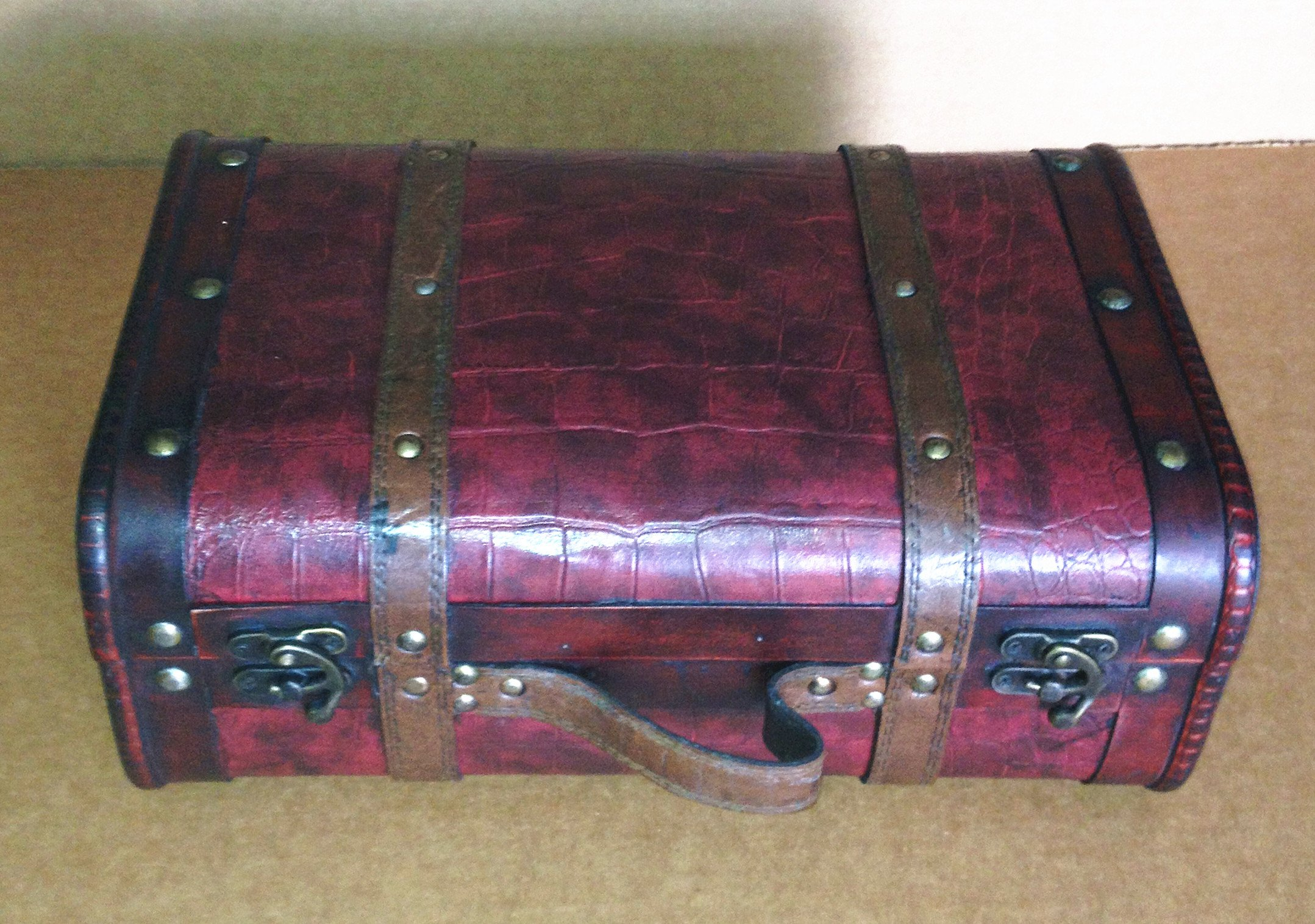 Replica Vintage-Style Wooden Suitcases (HF 017-C)