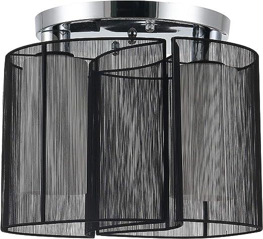 Plafonnier Lampe Toscana 2 Noir De Plafond éclairage Luminaire Lampe éclairage Design
