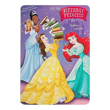 Hallmark Disney princesa cumpleaños tarjeta de juego de ...
