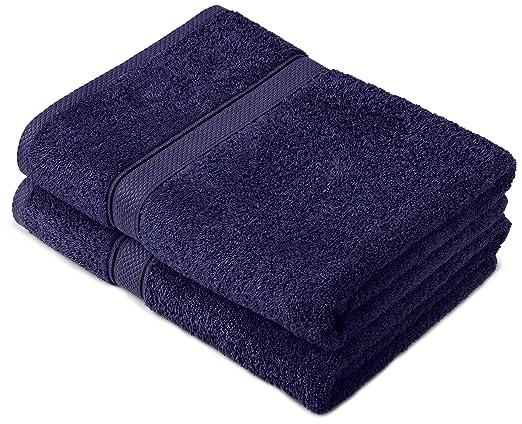 122 opinioni per Pinzon by Amazon- Set di asciugamani in cotone egiziano, 2 asciugamani da bagno,