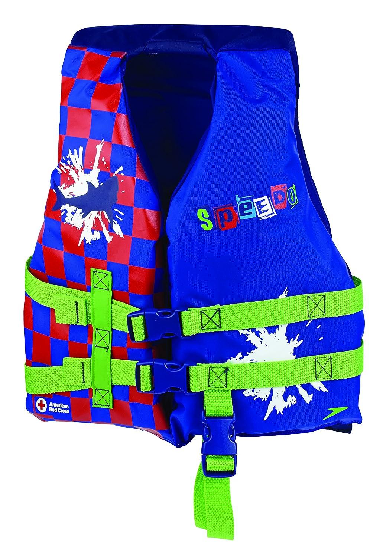 Speedo 子供向け個人用ライフジャケット B00O1YHYX2  ブルー One Size