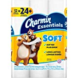 Charmin Essentials Soft Essentials 12 Double Rolls = 24 Regular Rolls