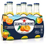 SanPellegrino - L'Aranciata Bibita Analcolica Gassata, 200 ml (Pacco da 6)
