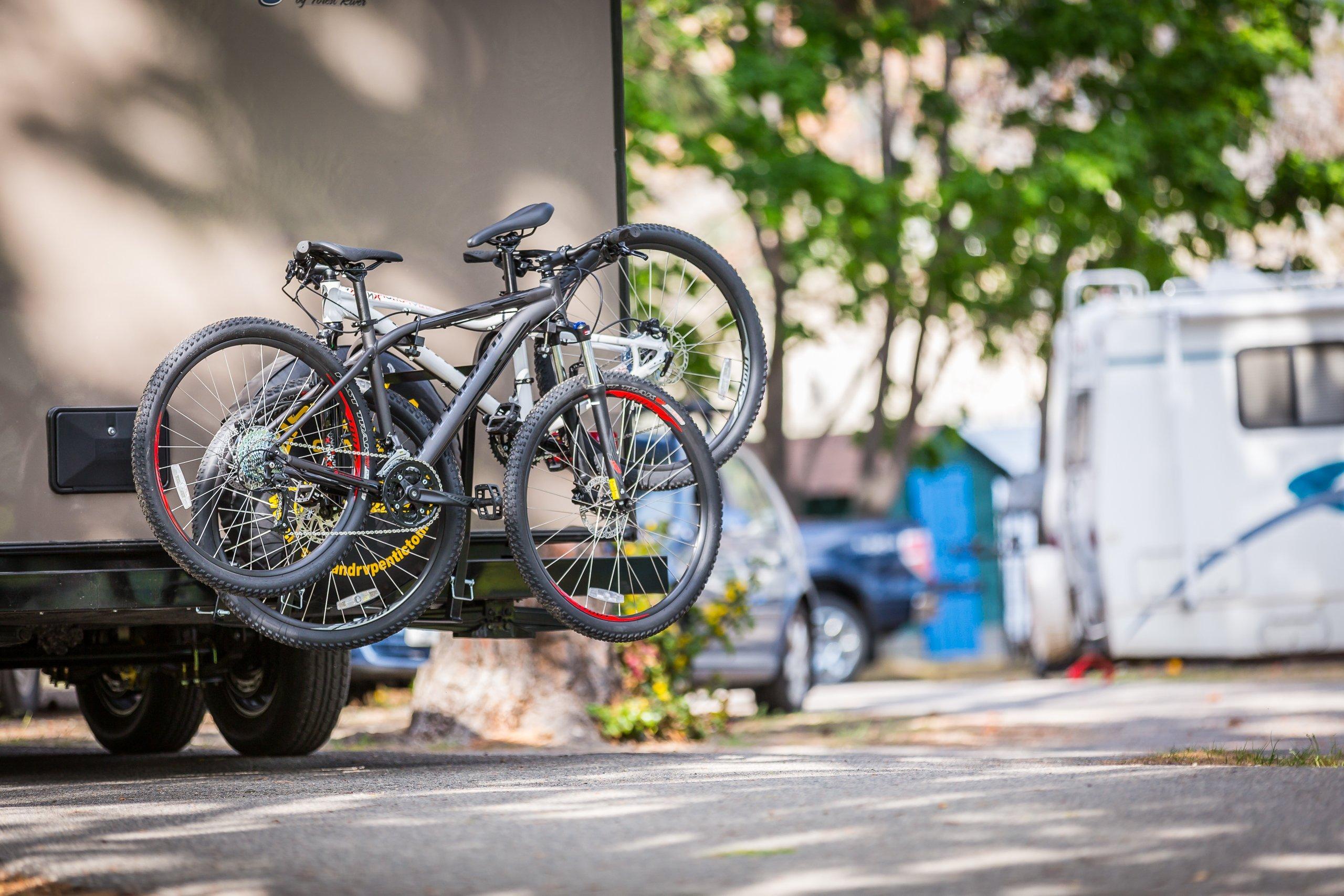 Swagman RV Approved Around the Spare Bike Rack