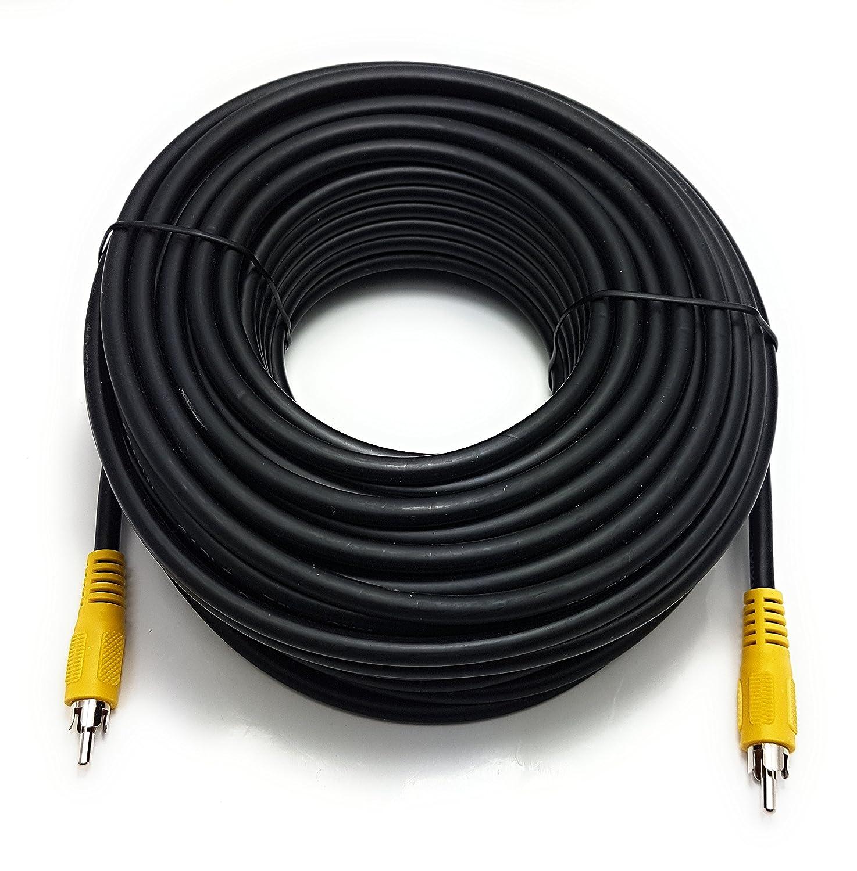 25/m RCA a RCA 1,2/m 15/m 0,50/m 3/m 10/m 2/m 5/m Digital Coaxial SPDIF Audio o Compuesto V/ídeo Cable Cord Lead//disponible en 0.25/m 20/m ragai largo Phono to Phono 7,5/m
