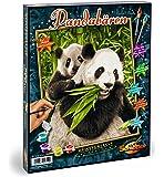 Schipper - 609240712 - Panda Bears - Tableau à Dessin - Taille 40 x 50 cm