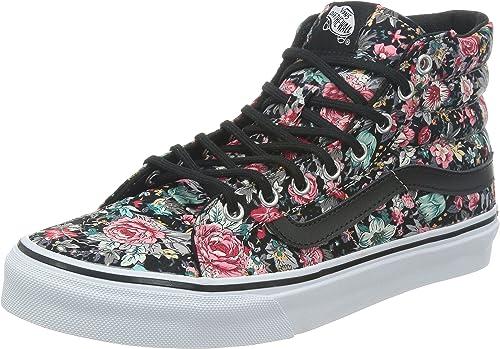 chaussures vans fleurs