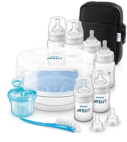 Amazon.com : Avent Bottle Feeding Essentials Set : Baby