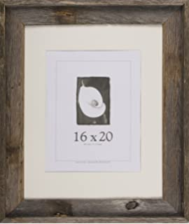 16x20 picture frames barnwood frames barnwood signature series 2 78