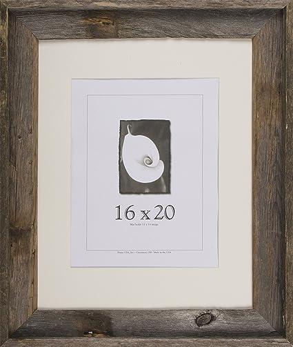 Amazon.com - 16x20 Picture Frames - Barnwood Frames - Barnwood ...