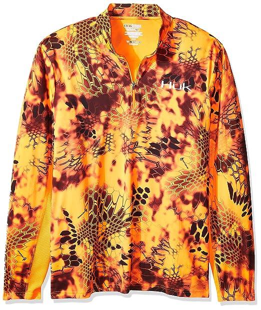 Amazon com: Huk Men's Kryptek Icon 1/4 Zip: Clothing