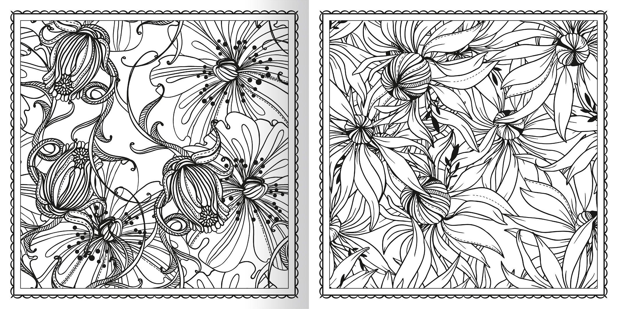 Blütentraum & Farbenzauber: Wunderbares zum Ausmalen Malprodukte für ...
