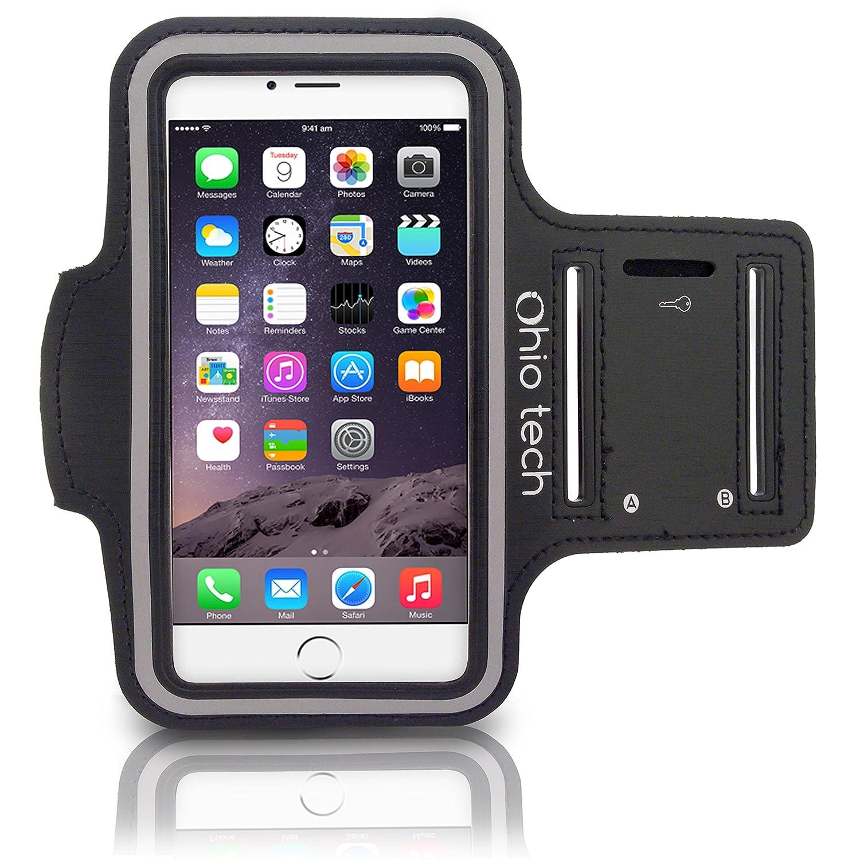 ohio tech iphone running exercise armband with key