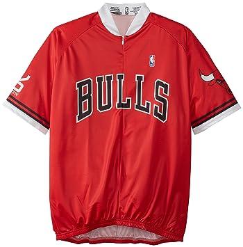 VOmax NBA CHICAGO BULLS Hombres de Ciclismo Jersey, NBA, hombre, color rojo,