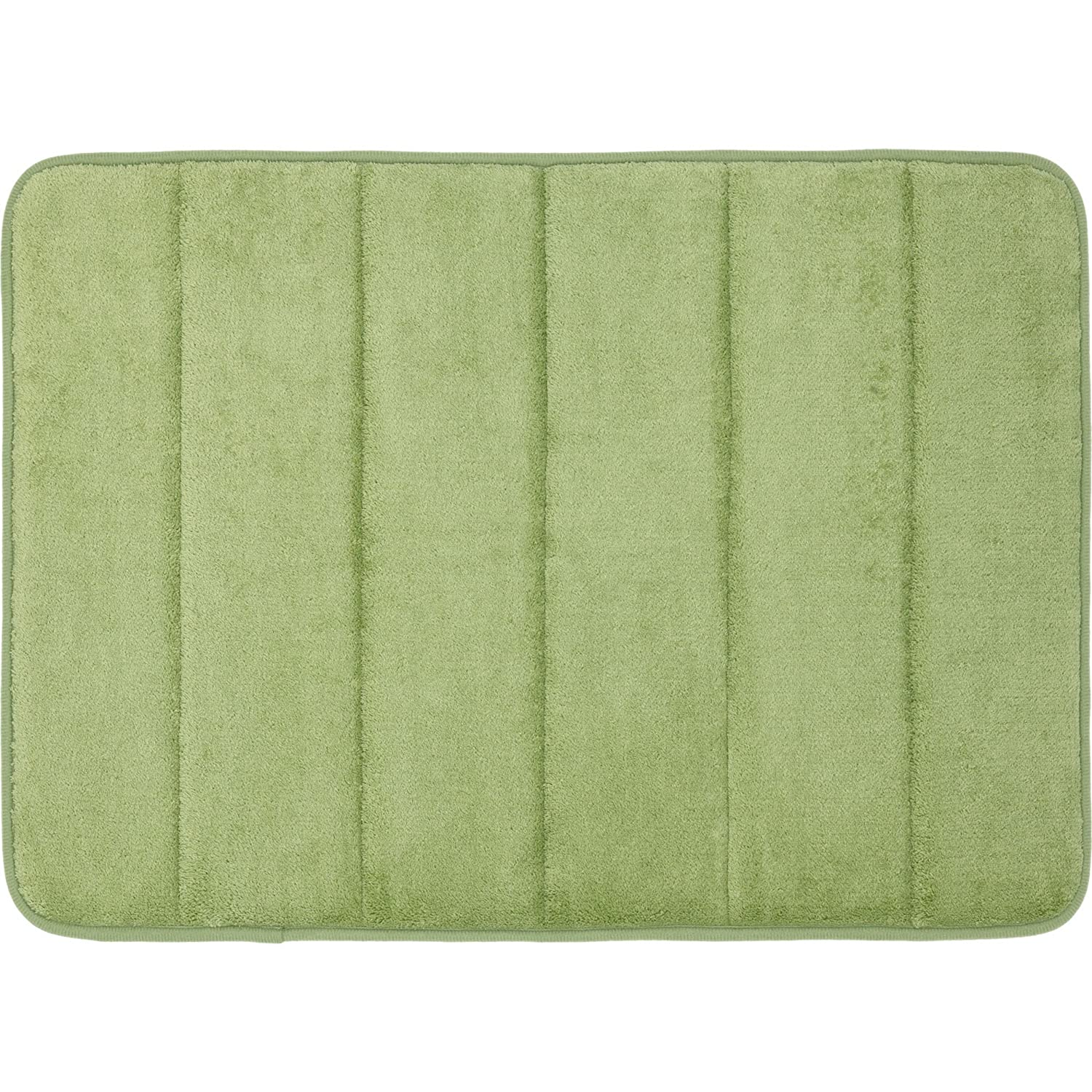 Amazon Mohawk Home Memory Foam Bath Rug 17 Inch by 24 Inch