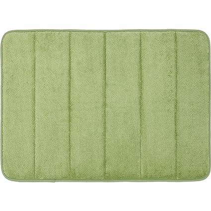 Mohawk Home Memory Foam Bath Rug, 17 Inch By 24 Inch, Sage