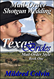 Mail-Order Shotgun Wedding (Texas Brides Mail-Order Style Book 1)