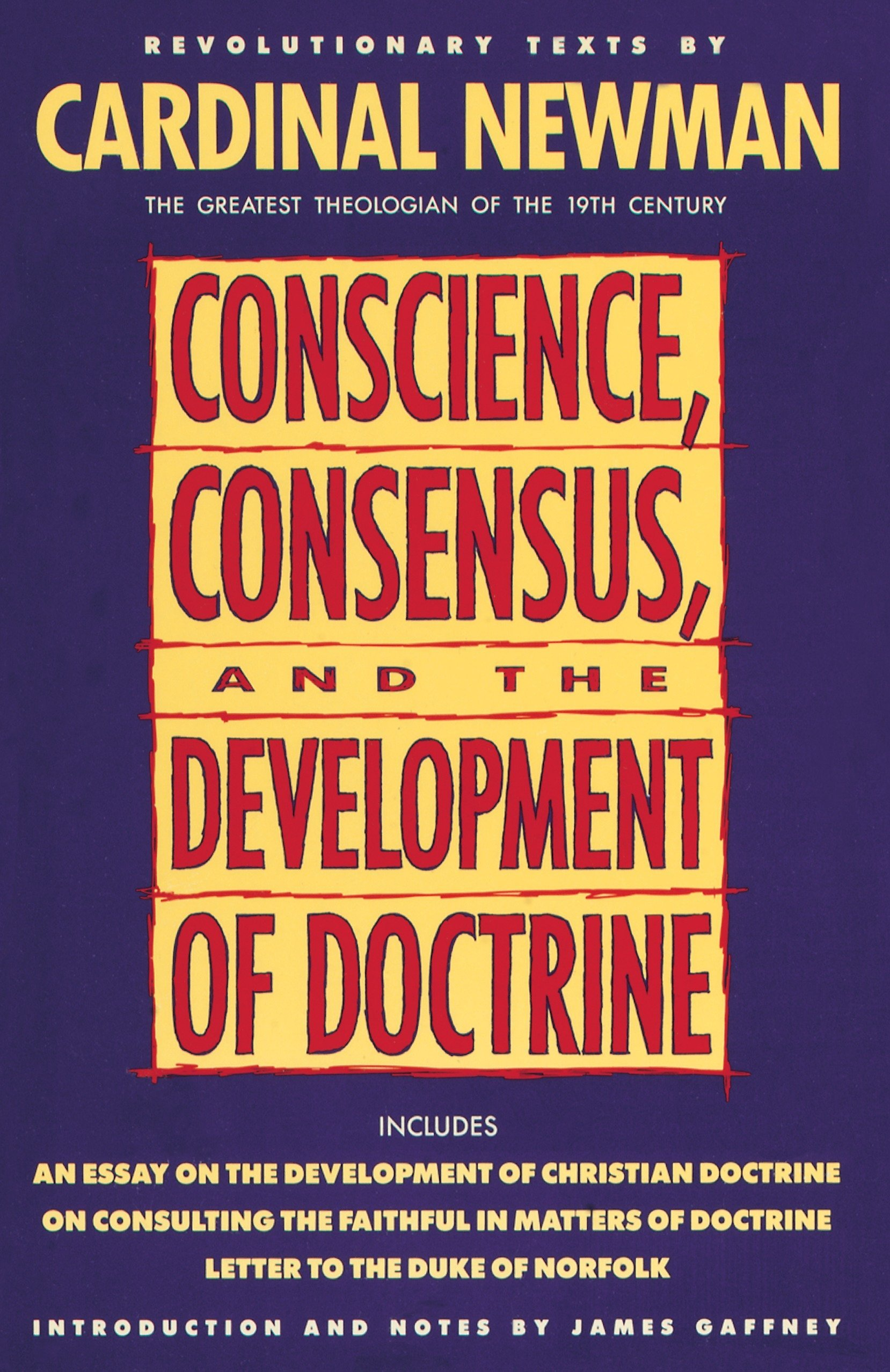 conscience consensus and the development of doctrine john henry  follow the author