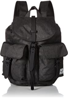 Herschel Dawson X-Small Backpack, Black Crosshatch, One Size