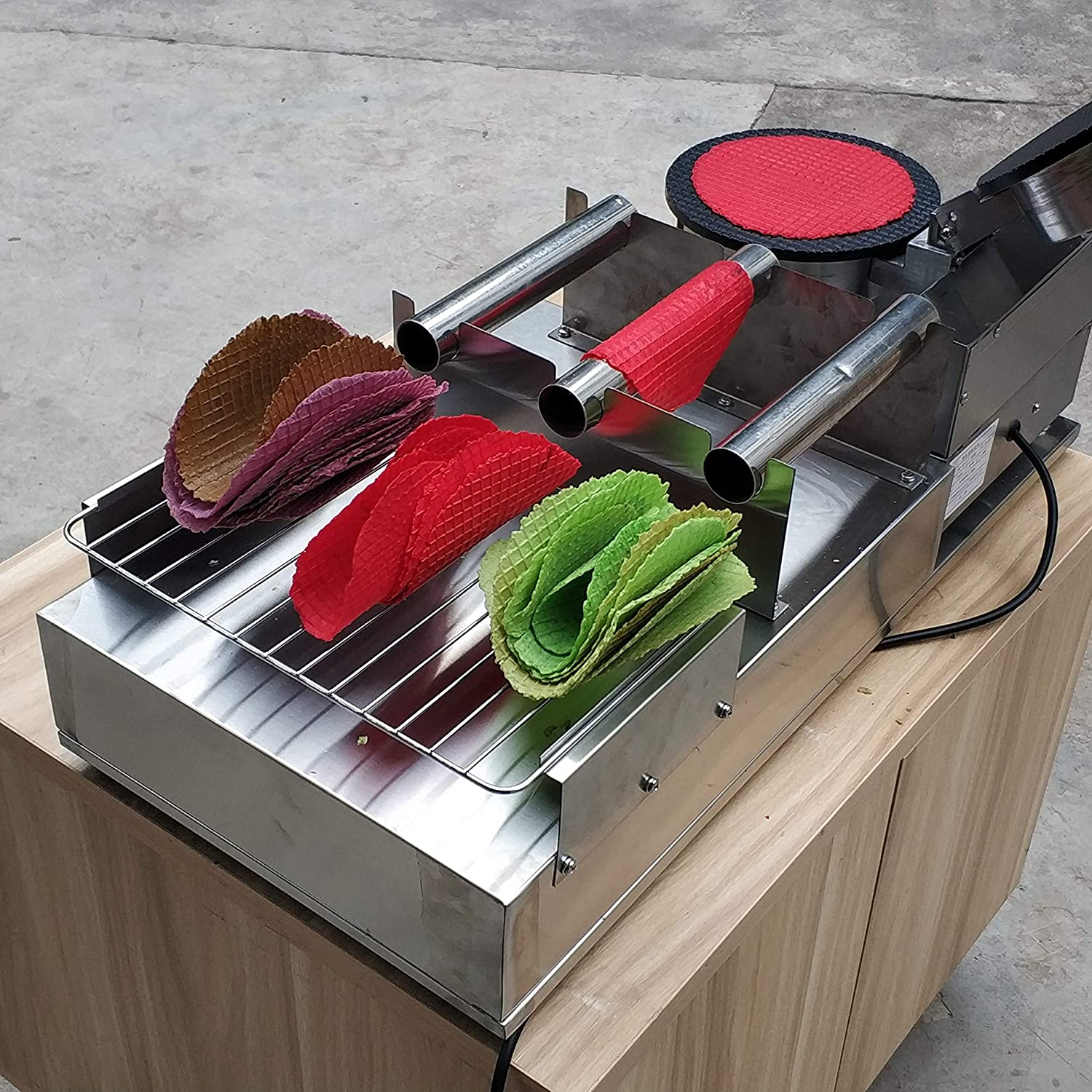 Amazon.com: Kolice Commercial Taco Rolling Machine/Taco ...