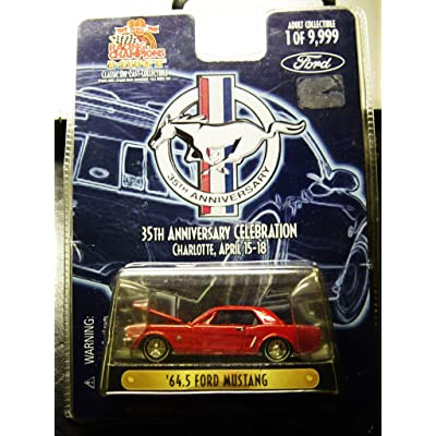 1964.5 Ford Mustang 35th Anniversary Die-Cast Car Ltd Edition of 9,999: Toys & Games