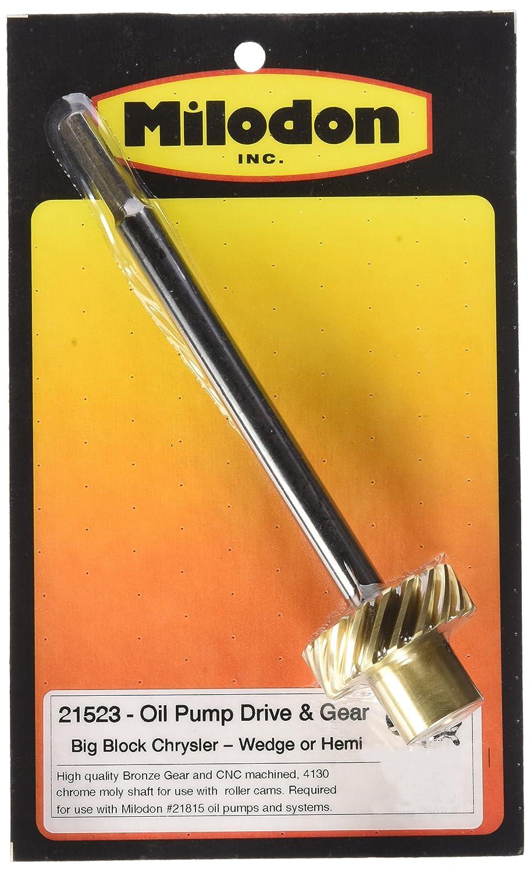Milodon 21523 8.25' Oil Pump Shaft with Bronze Gear for Big Block Mopar