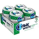 Orbit White Spearmint Sugarfree Chewing Gum, 40 count (Pack of 4)