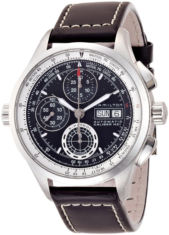 [ハミルトン]HAMILTON 腕時計 KHAKI X-PATROL(カーキ X-パトロール) H76556731 メンズ 【正規輸入品】 B00A6ILHFS