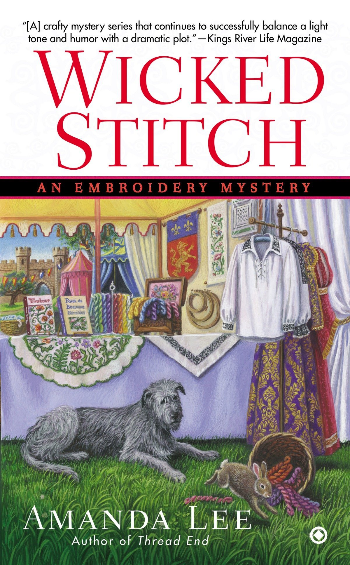 Download Wicked Stitch (Embroidery Mystery) pdf epub
