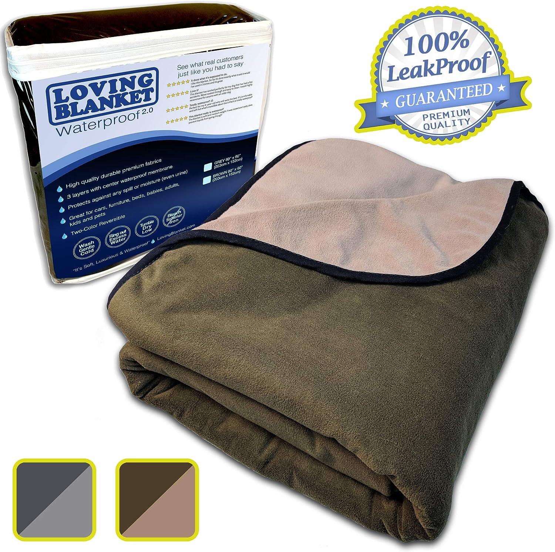 LovingBlanket Leak Proof, 3 layer blanket for dogs
