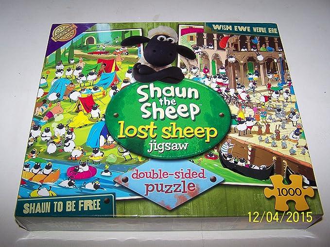 Cheatwell Games - Shaun The Sheep 1000 Piece Jigsaw Doble ...