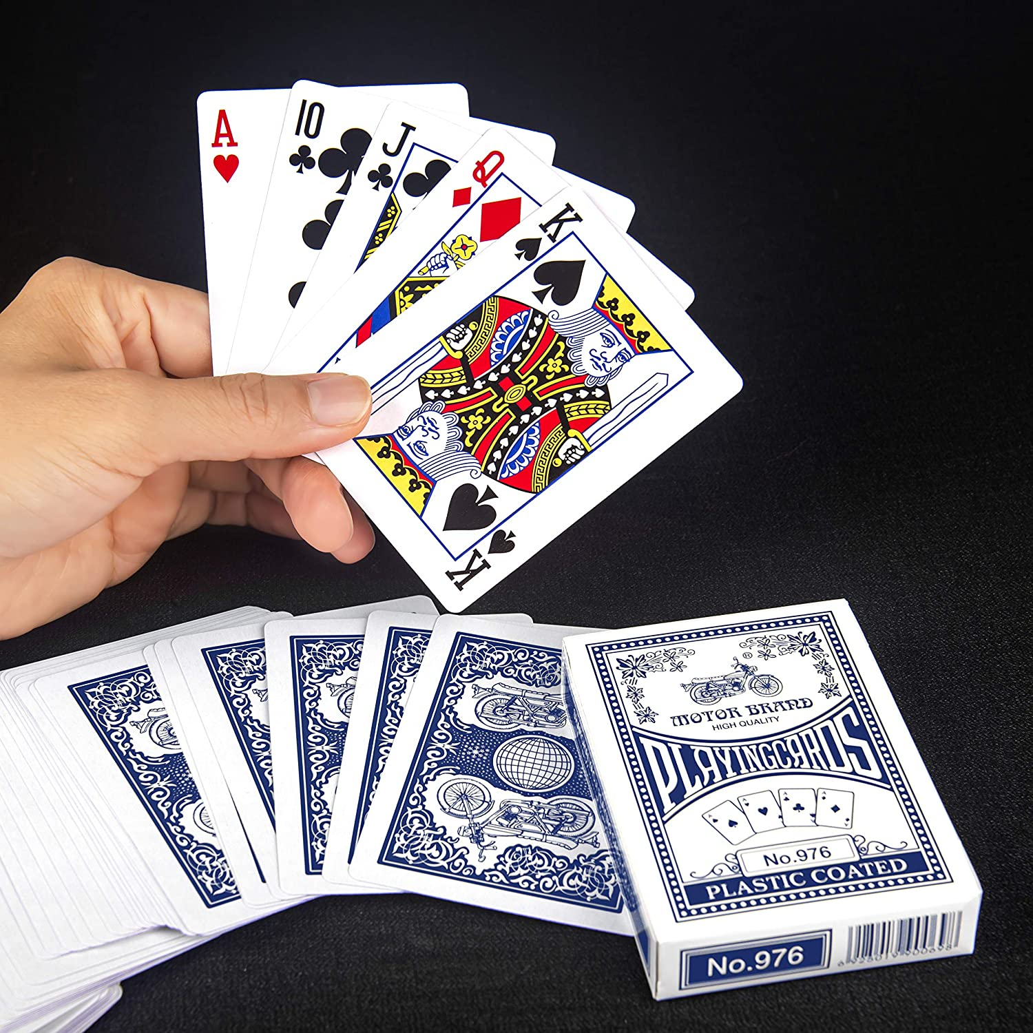Buy Otron Playing Cards Poker Size Standard Index Motor Brand Playing Cards 12 Pack Online At Low Prices In India Amazon In