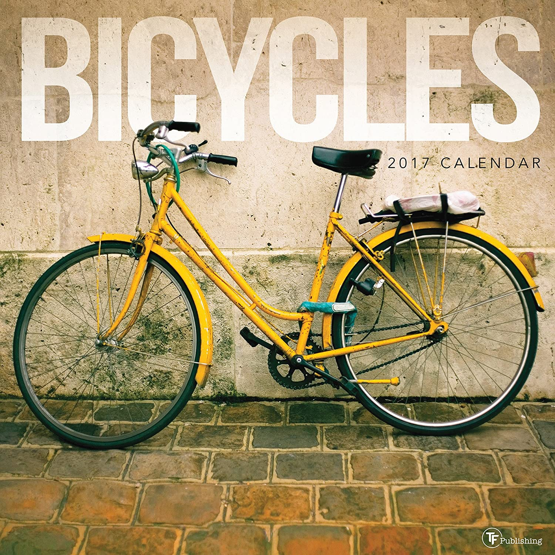 2017 bicicletas – Calendario de pared TF PUBLISHING {JG} gran vacaciones Idea de regalo – gran para mamá, papá ...