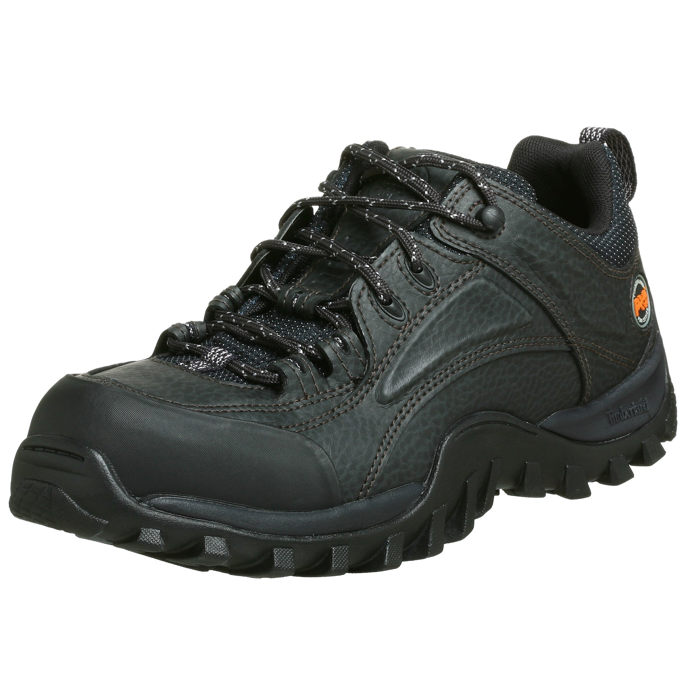 Timberland PRO Men's 40008 Mudsill Low Steel-Toe Lace-Up,Black,12 W