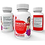 100% Pure Forskolin Extract For Weight Loss - Advanced Forskolin 250mg Dietary Supplement Burn Fat, Lose Weight, Stimulate Metabolism Lab Tested And Verified