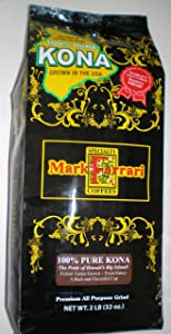 Mark Ferrari Specialty Coffees 100% Pure Kona Coffee