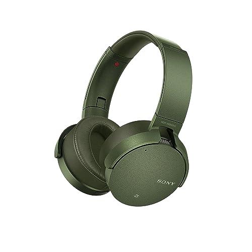 Sony MDR XB950N1G Auriculares inalámbricos con Bluetooth y Extra Bass cancelación de Ruido Verde