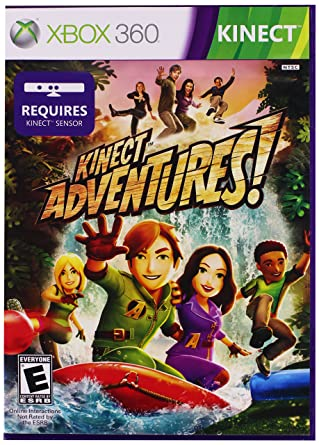 Amazon Com Kinect Adventures Xbox 360 Video Games