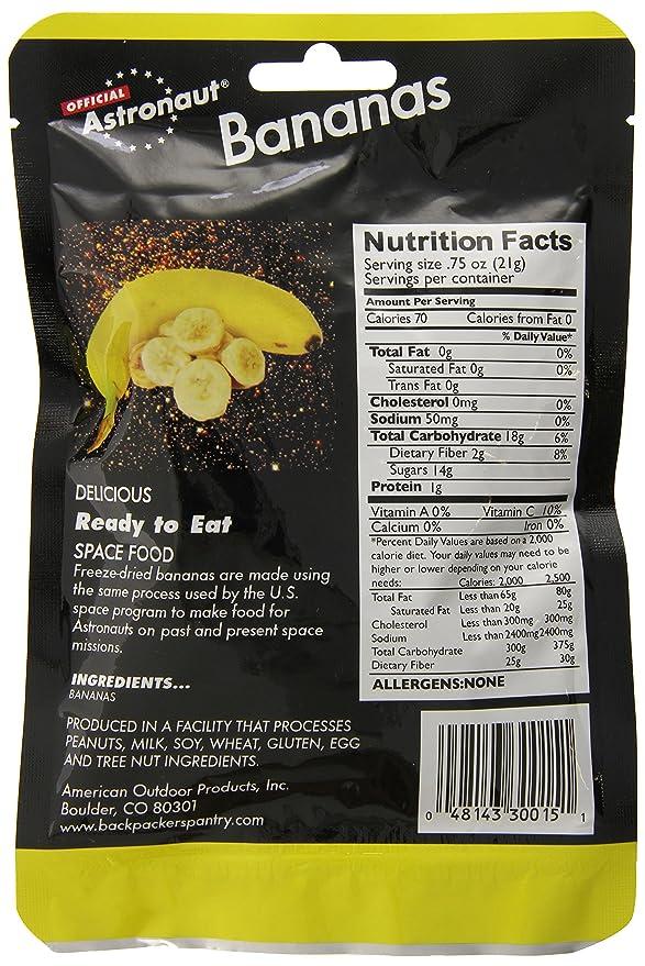 Astronaut Food - Bananas: Amazon.es: Electrónica