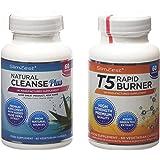 SlimZest T5 Rapid Burner and Colon Cleanse Detox Pills - Pack of 120