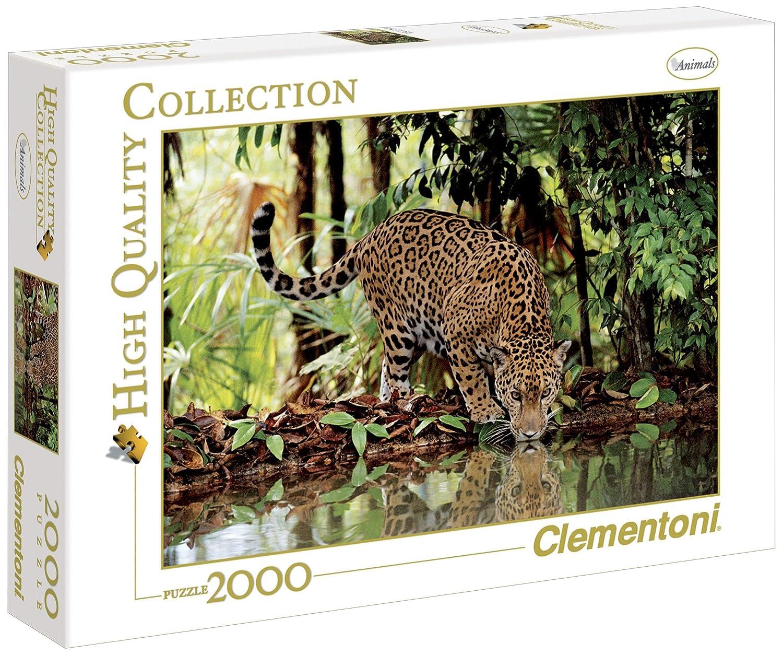 32537 - Clementoni Puzzle 2000 Teile Leopard, 2000 Teile: Amazon.es: Juguetes y juegos