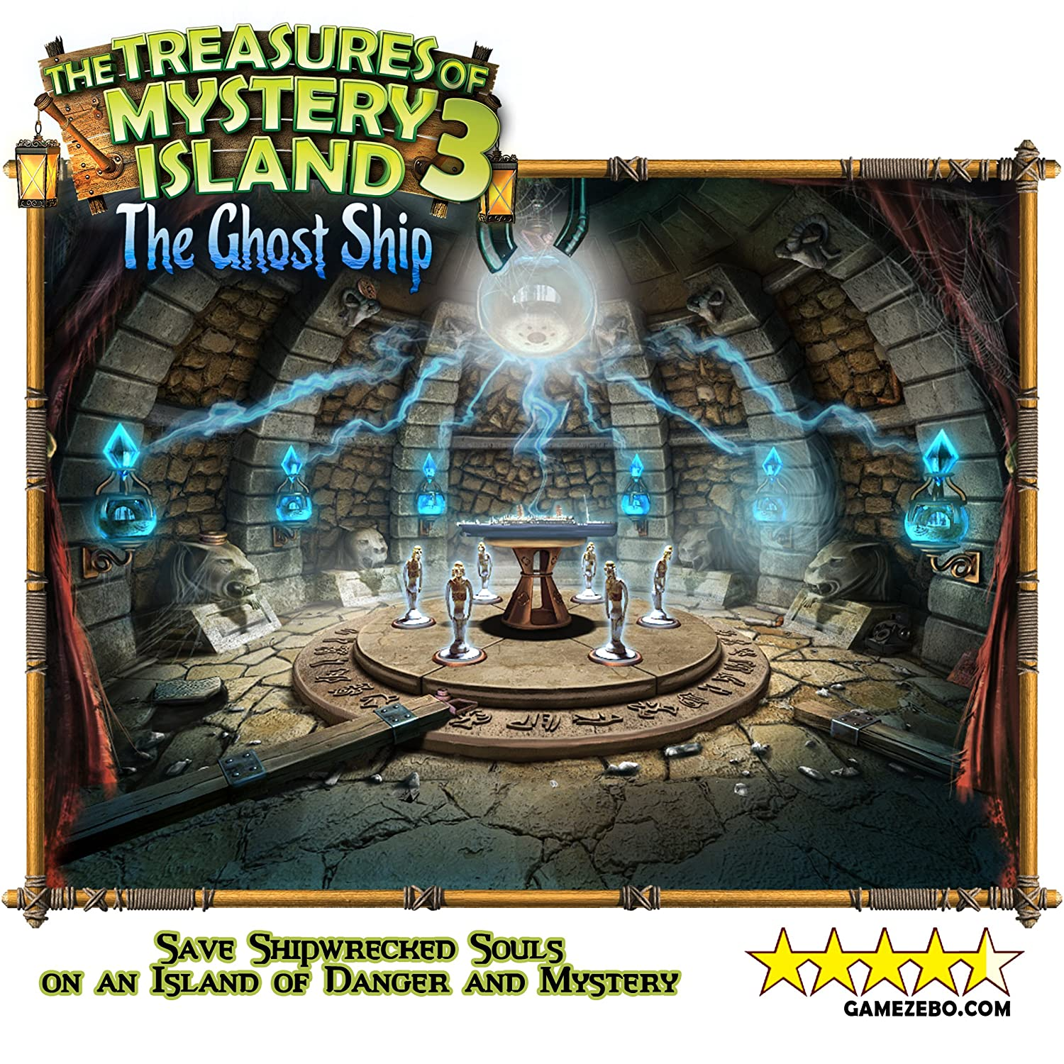 Amazon Treasures of Mystery Island 3 Pack Uncover a Trilogy