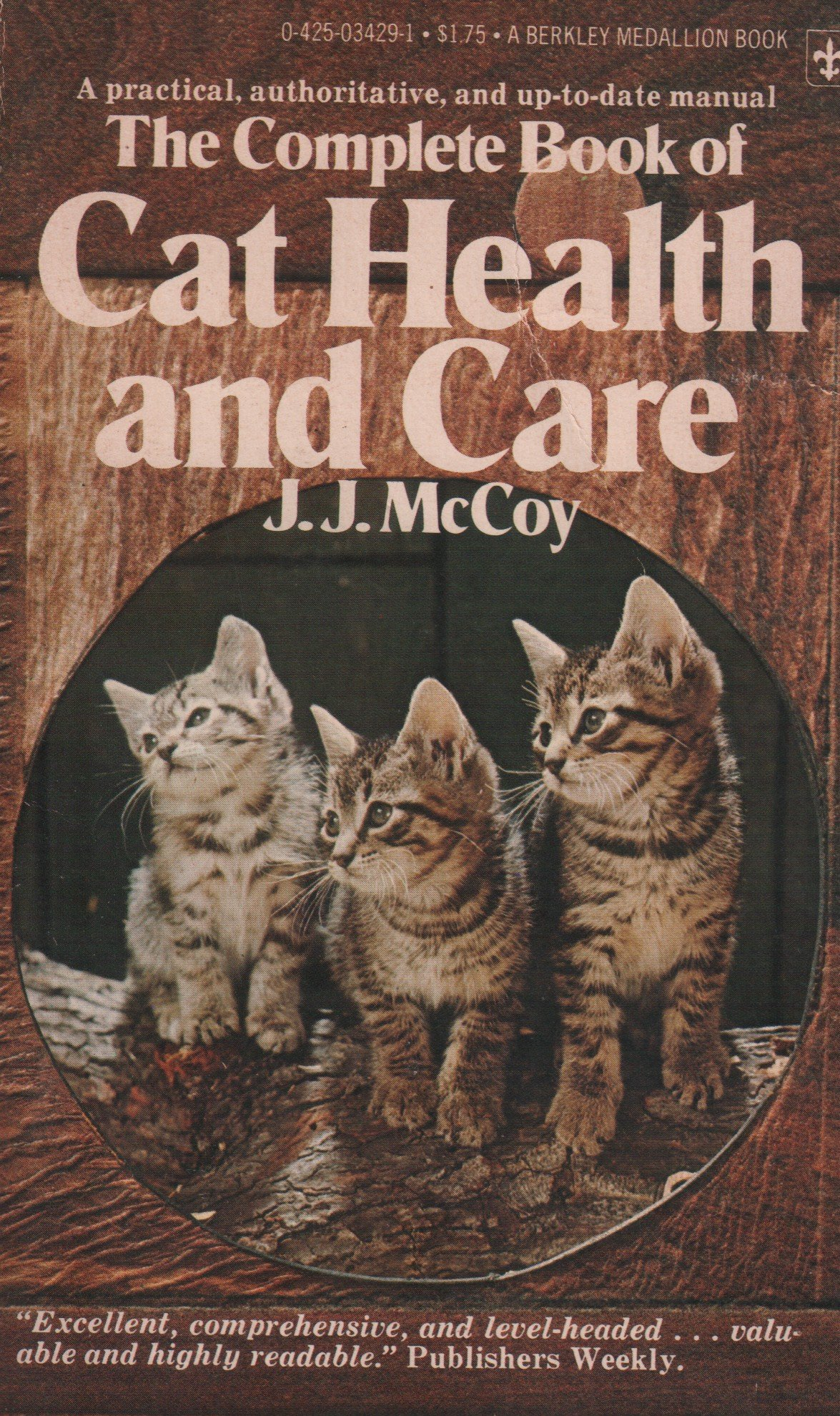 The Complete Book of Cat Health and Care