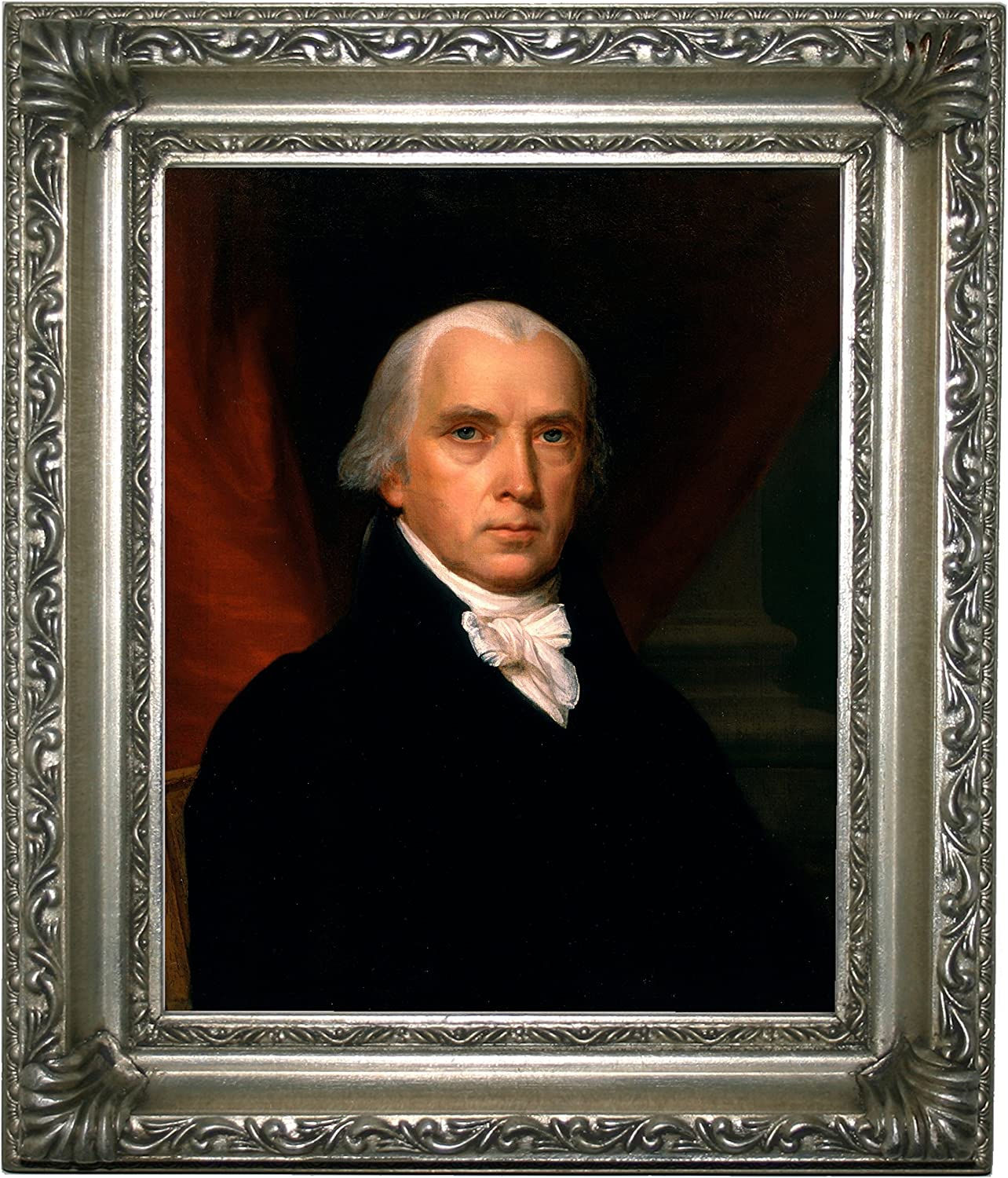 Vanderlyn James Madison Wood Framed Canvas Print Repro 8x10